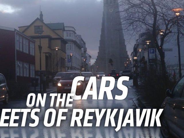Islannin kylmä auto