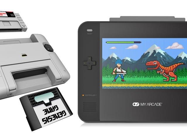 Super Retro Champ spiller SNES og Sega Genesis-patroner, hvilket bringer fred til retro-spil