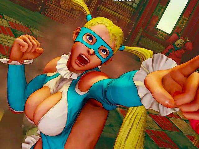 <i>Street Fighter V</i> 의 스토리 모드에서 R. Mika의 Backstory를 확인하십시오.