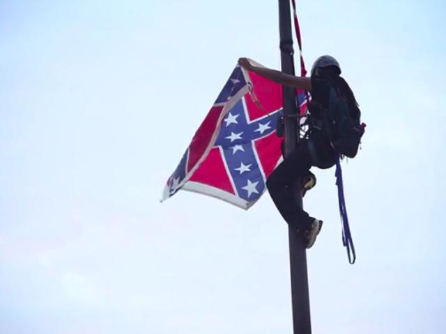 为什么Bree Newsome暂时摧毁国旗还不够