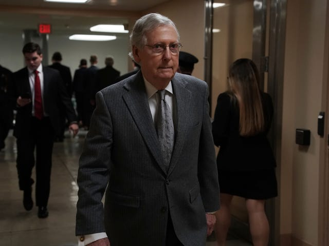 Mitch 'Turtle Face' McConnell Changes Tune, Pushes For Criminal Justice Reform Bill Vote