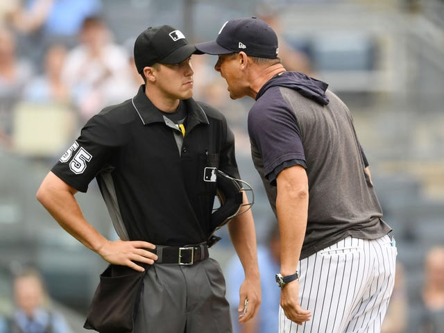"Report: The Yankees Almost Had A Hand In Preventing Aaron Boone's ""Fucking Savages"" Rant From Becoming Public"