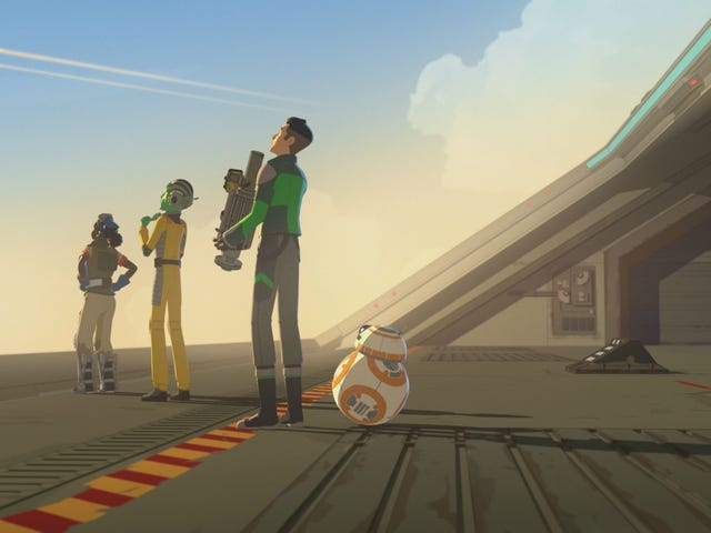 Please Let Star Wars Resistance Tell Its Own Story