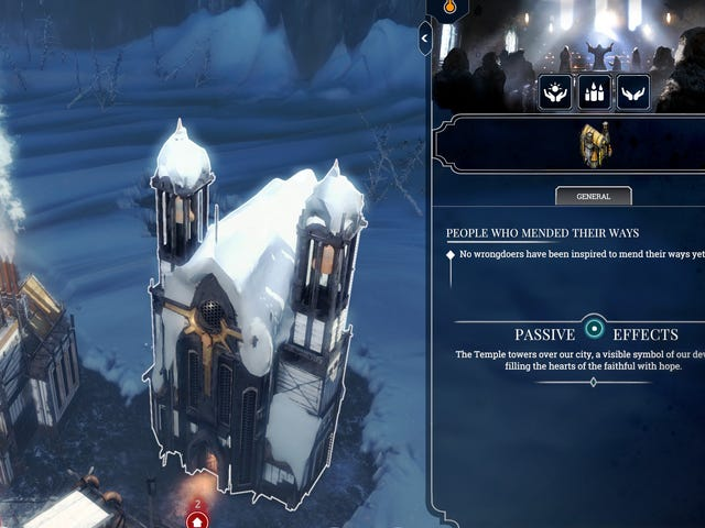 I Can't Stop Building Churches In Frostpunk