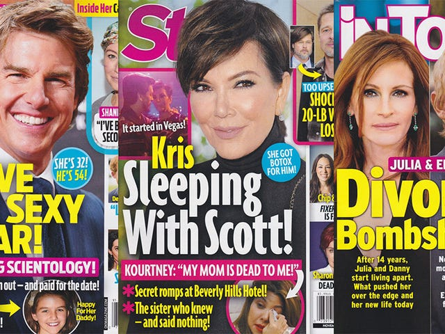 Esta semana en la prensa sensacionalista: Kris Jenner y Scott Disick lo hacen y no puedes detenerlos