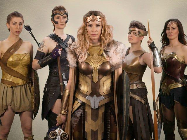 Cosplayers Create Their Own Wonder Woman Vanity Fair Shoot