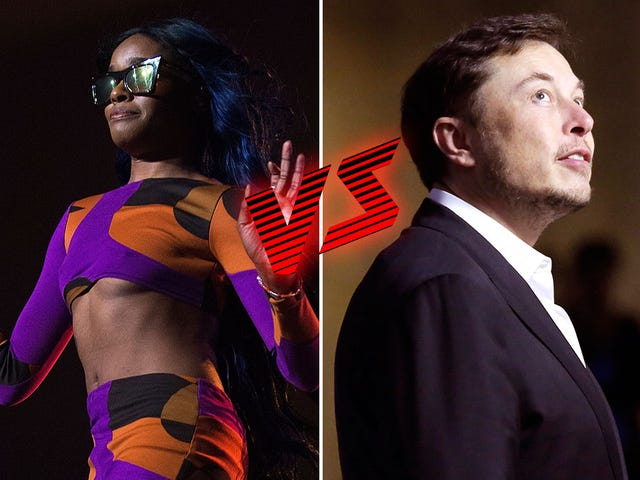 Was Elon Musk Tweeting on Acid? Azealia Banks Says Yes