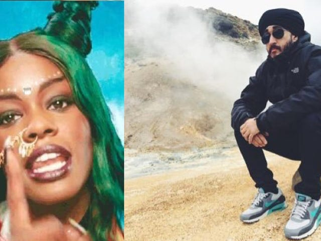 Azealia Banks Punjabi-Canadian YouTuber Jus Reign이 그녀를 비난 한 후에 잘못한 것을 사과했다.