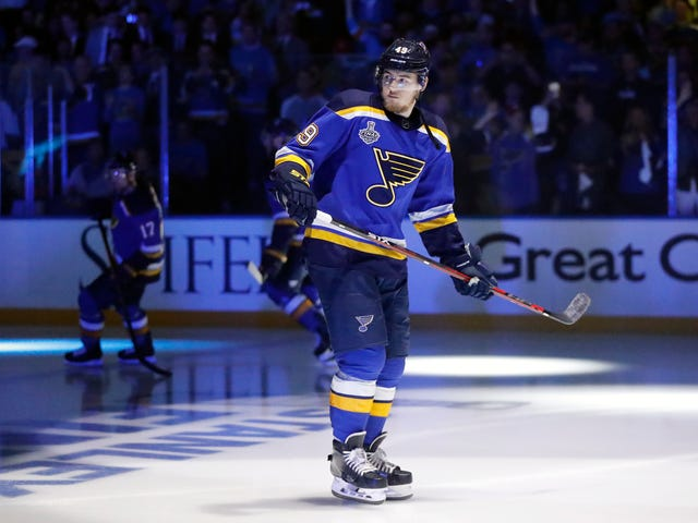 Ivan Barbashev Is Suspended For Game 6 And The Blues Will Miss Him