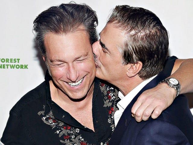 Крис Нот и Джон Корбетт сделали поцелуй в <i>Sex and the City</i> Flashback ваших мечтаний