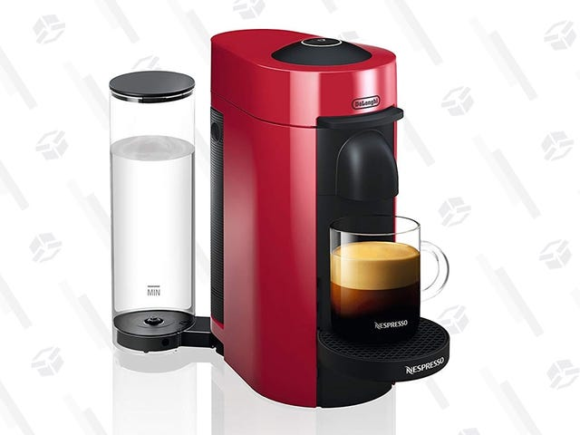 Start Your Morning With Espresso (Or Coffee!) From This Discounted Nespresso