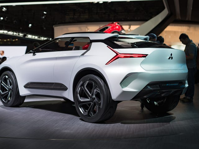 Mitsubishi's Electric SUV Concept Isn't A Lancer Evo But It's A Chance To Be Relevant Again