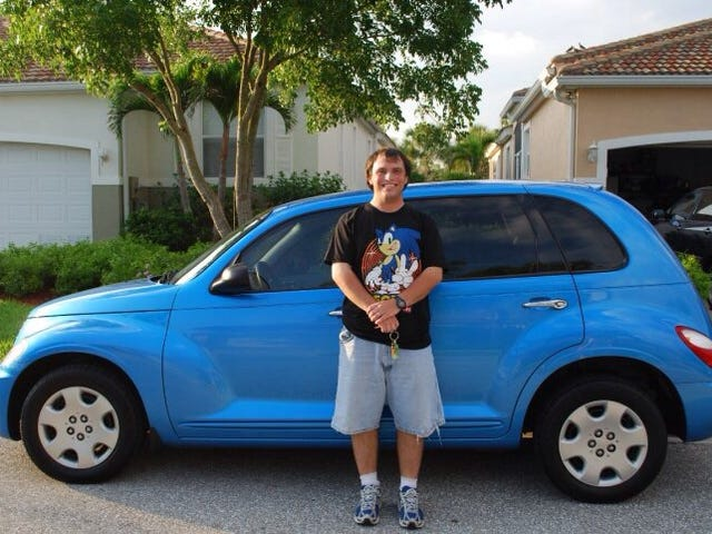 Jolly Roger, my PT Cruiser