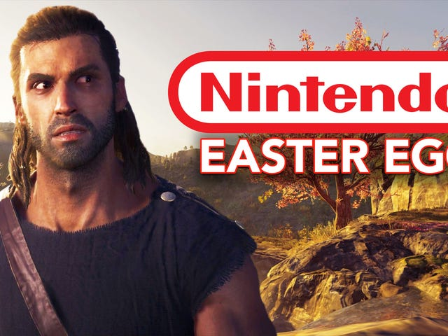 <i>Assassin's Creed Odyssey</i> piilottaa Nintendon pääsiäismunan