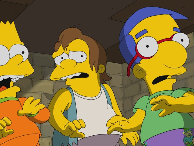 """""""Treehouse Of Horror XXIX"""" sees The Simpsons ladle out some tepid horrors"""