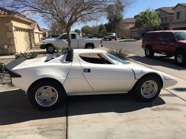 Denna Honda Powered Lancia Stratos Kit-Car är lika nära som du kommer till den verkliga saken utan att röra en bank