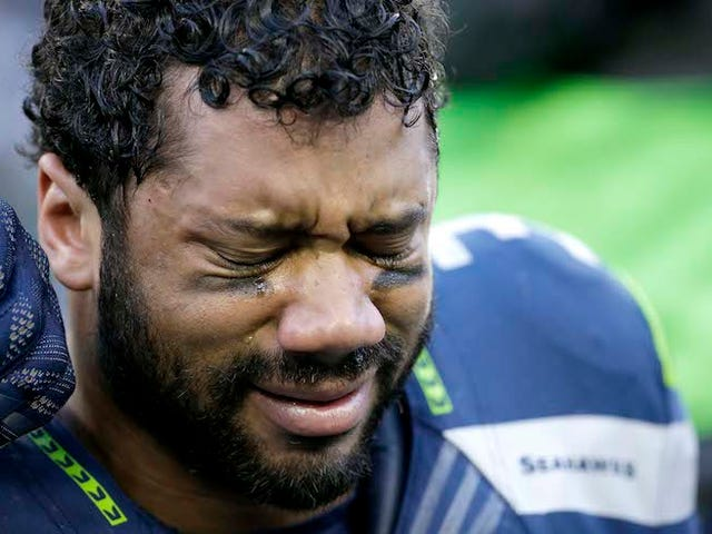 Seahawks Tweet, Delete MLK Quote With Photo Of Crying Russell Wilson