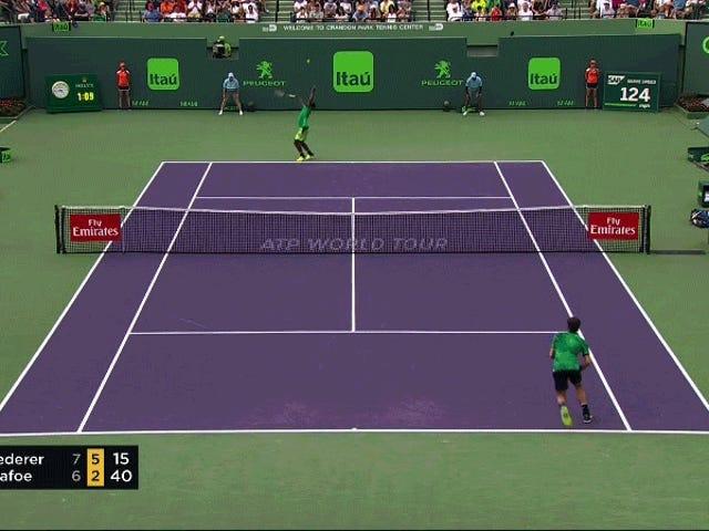 Roger Federer ทำสิ่งนี้ตามวัตถุประสงค์