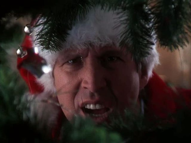 Another year, another censoring of National Lampoon's Christmas Vacation