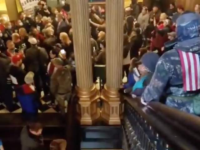 Michiganders with Guns Storm House of Representatives for Their Right to Contract Coronavirus
