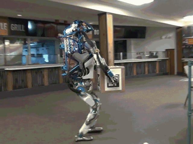 केवल नौकरी Humanoid रोबोट में अच्छा कर रहे हैं लकीर GIFs बना रही है
