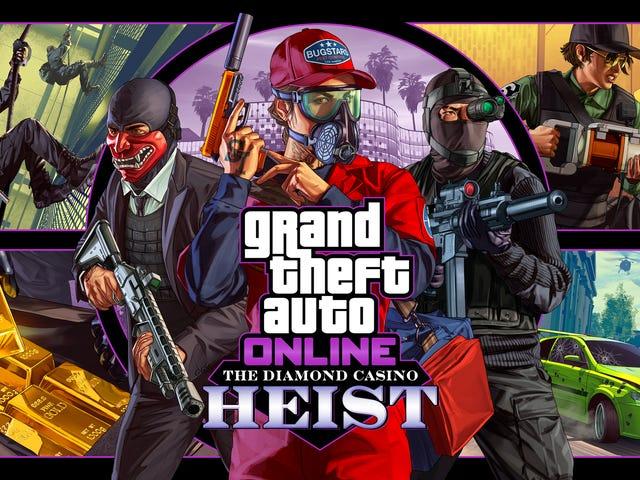 En ny heist tilføjes til GTA Online i næste uge