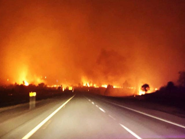 Record-Breaking Heat in California Led to Home-Destroying Wildfires