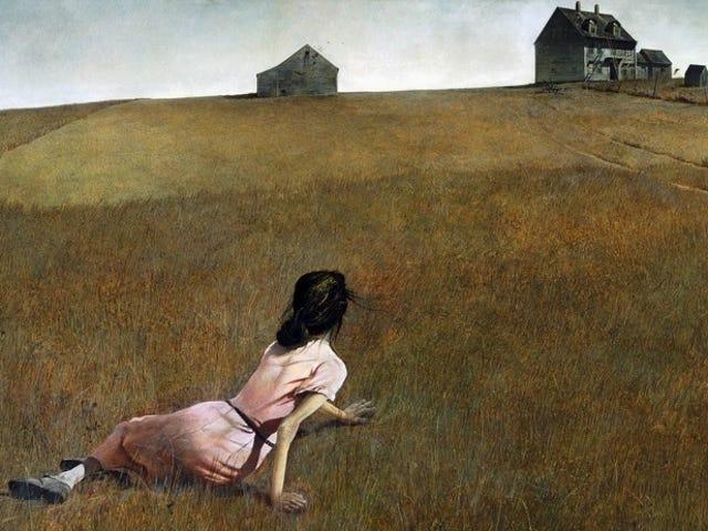 Kvinnan i denna berömda målning kan ha lidit av en nervstörning