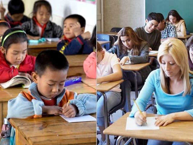 Report: Chinese Third-Graders Falling Behind U.S. High School Students in Math, Science