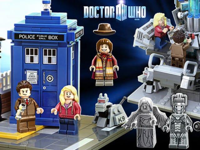 <i>Doctor Who</i> LEGO chính thức là một điều thực sự
