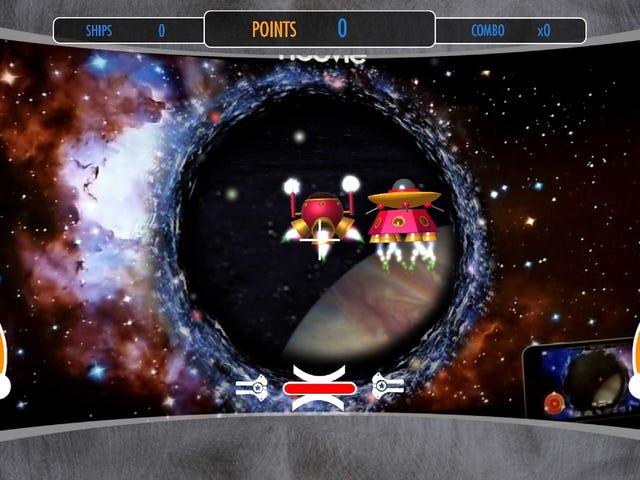 Spelar de konstiga filmteatern AR-spel som visas före filmer