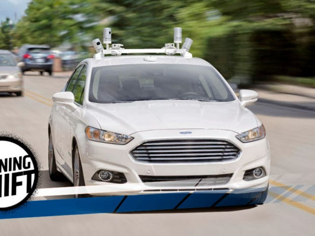 Ford And Lyft Bring Us Ever Closer To Self-Driving Taxi Cabs