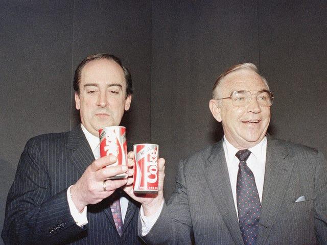 El día que Coca Cola cometió el hata ve rahatsızlık: copiar el sabor de la Pepsi