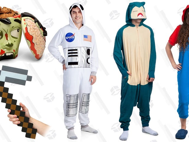 Wrap Up Your Halloween Shopping With ThinkGeek's 50% Off Sale
