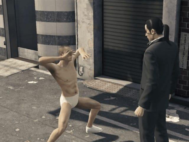 Este Día de San Valentín, Spare A Thought For <i>Yakuza 0</i> 's Horny Underpants Guy