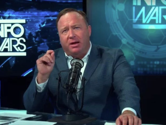 YouTube Bans InfoWars Following Removals From Apple, Facebook, and Spotify