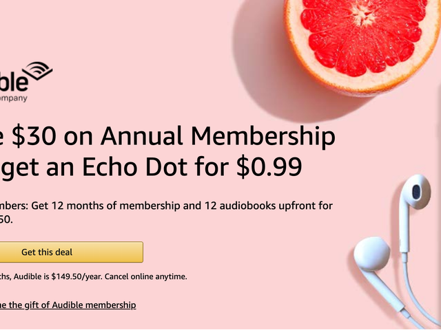 This Annual Audible Membership Deal Is Even Available For Previous Subscribers