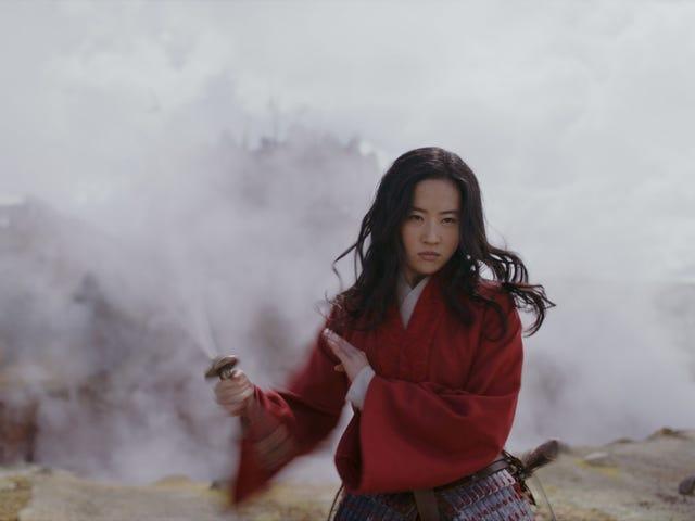 De eerste Mulan-trailer plaagt het avontuur van een overweldigende krijger