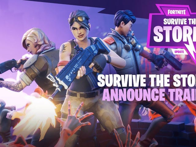 Fortniteの最初のアップデートでは、新しいモード「Survive the Storm」といくつかの新しい武器と戦利品