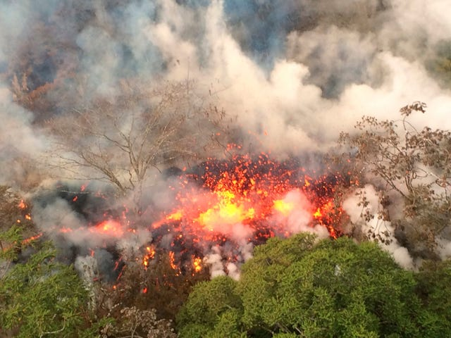 Hawaii's Kilauea Volcano Is Now Spewing Large 'Ballistic' Rocks
