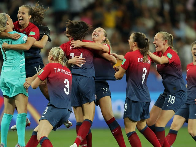 Norway's Perfect Penalty Shootout Deflated Australia Into Submission