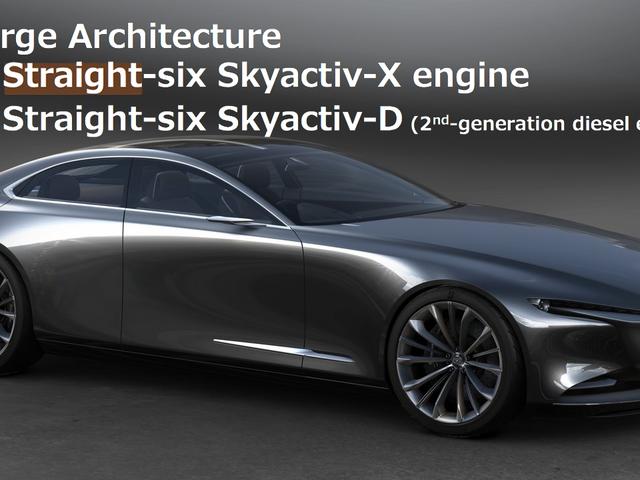 Mazda Utfordringer BMW og Mercedes, Shames Toyota med utvikling av New Straight-Six Skyactiv-X Engine