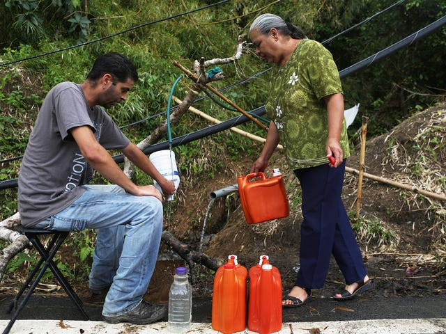 Report: Water From a Hazardous Waste Site Is Being Given to Puerto Rican Hurricane Survivors to Drink