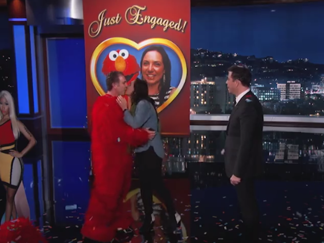 This Surprise Proposal on Jimmy Kimmel Live! Is Admittedly Cute
