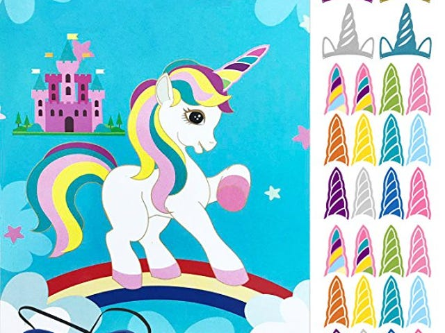 60% Off Oannao Unicorn Party Supplies on Amazon