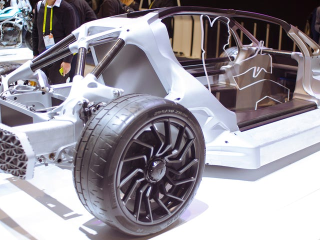 The Divergent 3D Printed Car Is The Only Thing At CES That Promises A Future Worth Living In