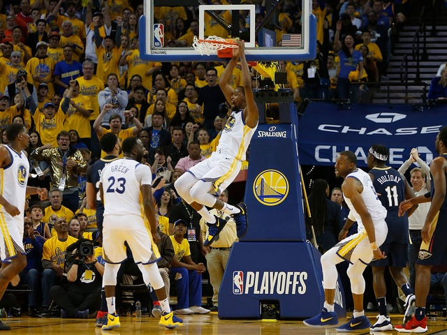 The Warriors Revved Up And Beat The Pelicans At Their Own Game