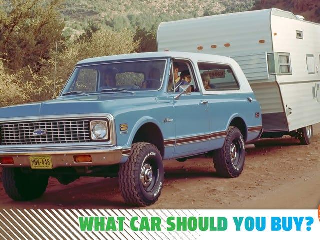 मैं एक उचित मूल्य के लिए एक शांत विंटेज एसयूवी की आवश्यकता है!  मुझे कौन सी कार खरीदनी चाहिए?