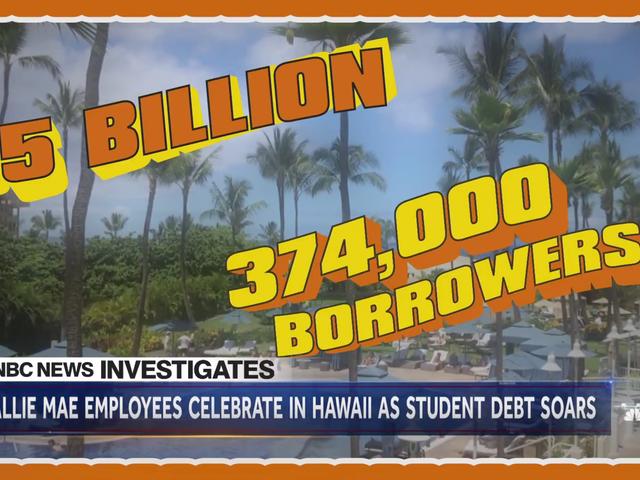 Sallie Mae fløj mere end 100 ansatte til Hawaii for at fejre $ 5 milliarder i salg