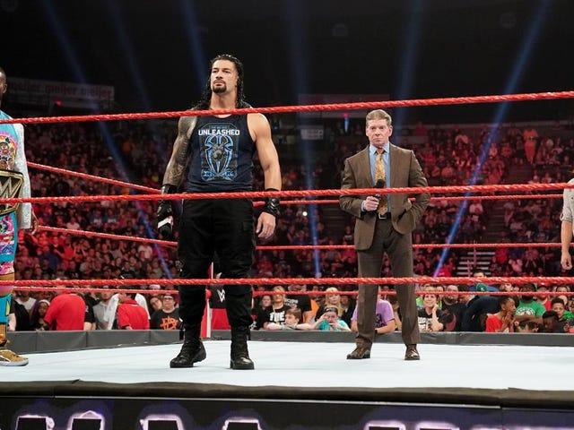 WWE в застарілих Creative руйнує свої рейтинги